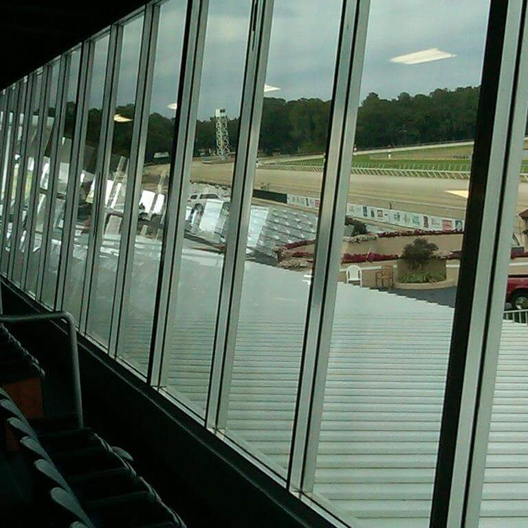 Window Film Improves View at Tampa Bay Downs | Pleasant Details and Tint | Charleston SC