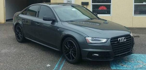 Audi Gets Final Touches With 3M™ CTX Window Tint   Pleasant Details and Tint   Charleston, SC